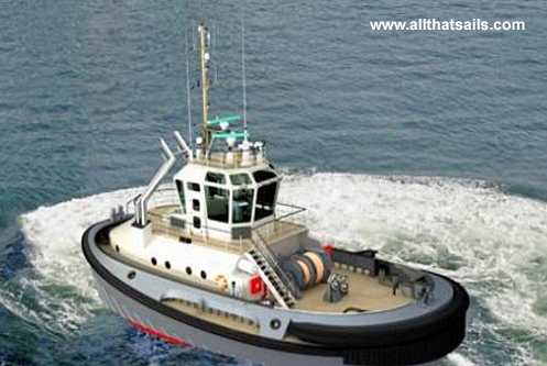 25M Hybrid Harbour Tug for sale