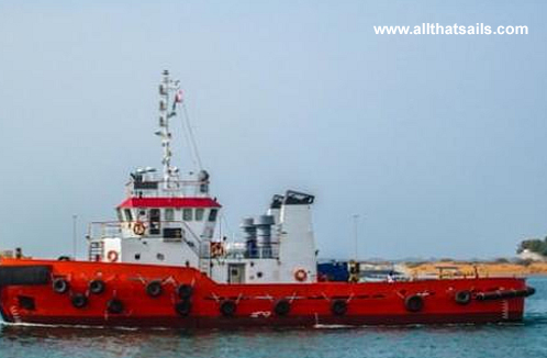 32M Twin Screw Tug Boat for sale