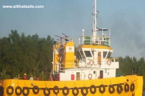 23M Tugboat for sale