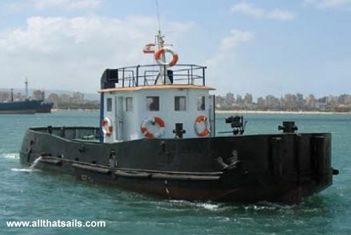 17M Tugboat for Charter