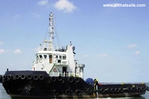 32M Twin Screw Tugboat for Sale or Charter