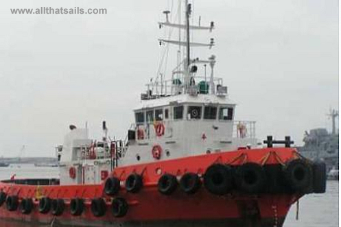 29M Twin Screw Tugboat for sale