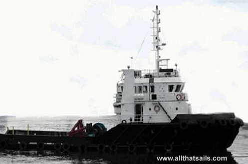29M Twin Screw Fixed Pitch Tug sale or charter