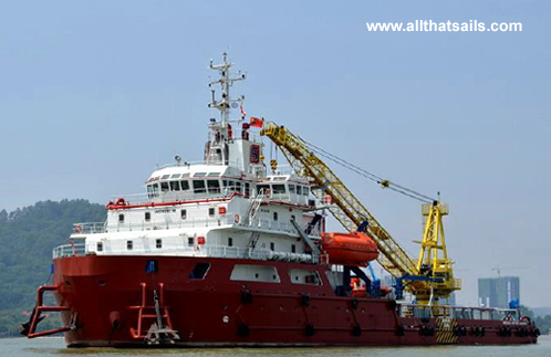 3620bhp Maintenance Support Vessel for sale
