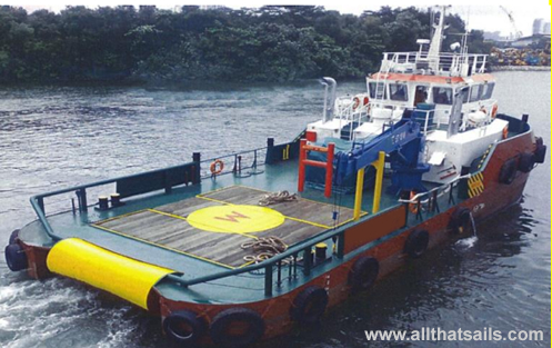 26M Shallow Water Utility Tug for sale