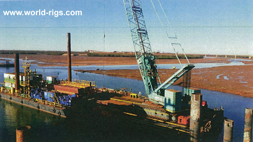 2007 Built Ballastable Non-Propelled Barge for Sale