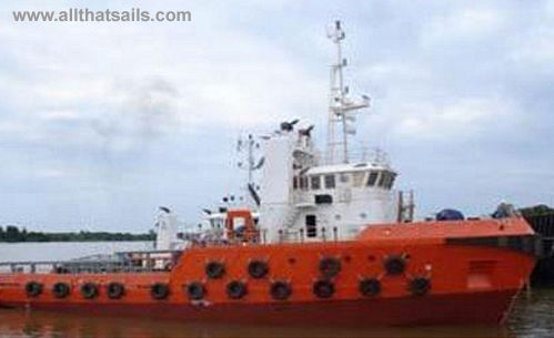 37M Anchor Handling Tugboat for sale or charter