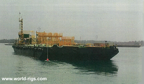 64M Ballastable Non Propelled Barge for Sale