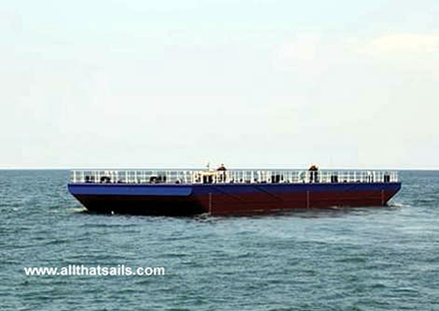 35M Flat Top Deck Cargo Barge For Sale