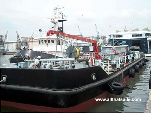 35M Non Self propelled Bunker Barge for Sale or Charter
