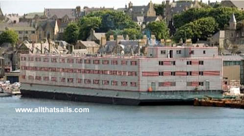 95M Accommodation Barge for Charter
