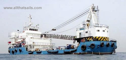48M Self Propelled Accommodation Barge for Sale