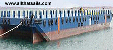 76M Deck Cargo Ballastable Tank Barge For Sale or Charter