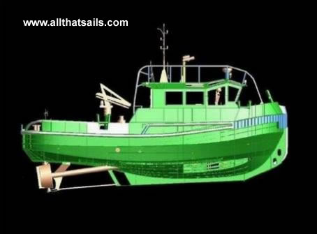 Twin Screw Tug - 14.8m - For Sale