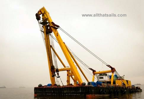 41M Crane Barge For Charter