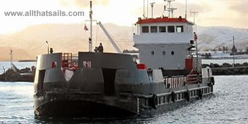 50M Split Hopper Barge For Sale