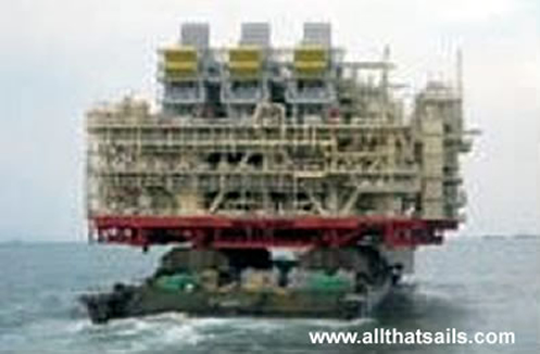 168M Length Semi Submersible Barge For Sale