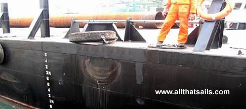 46m Flat Top Deck Cargo Barge For Sale
