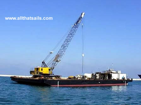 50M Flat Barge For Charter