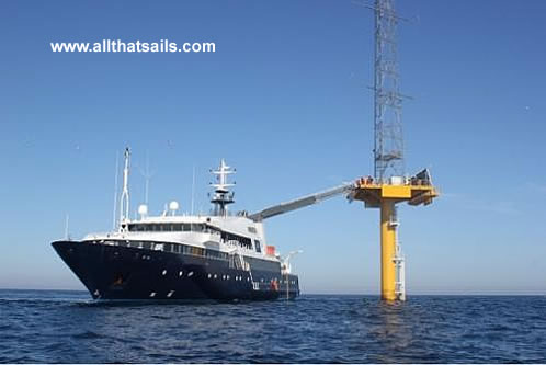 70m Accommodation Support Vessel for Charter
