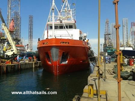 50m Utility Supply Vessel for Charter or Sale