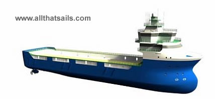 83m Platform Supply Vessel for Sale