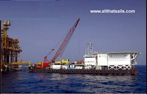 60M Accommodation Work Barge For Charter