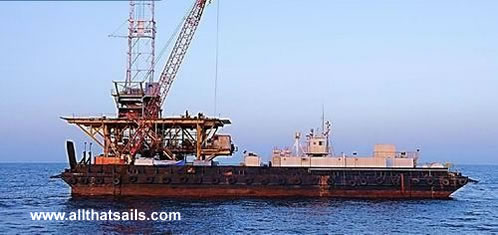 64M Accommodation Work Barge For Sale