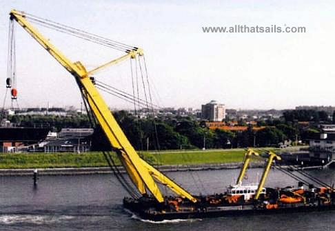 46M Length Floating Crane For Charter