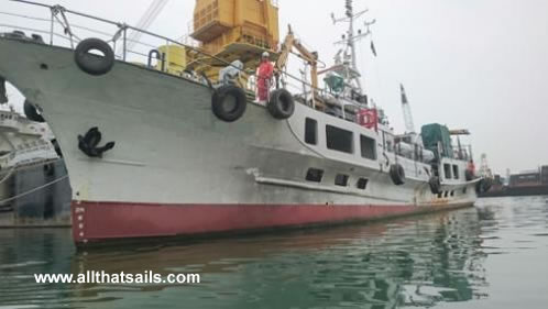 36m Utility Vessel for Sale
