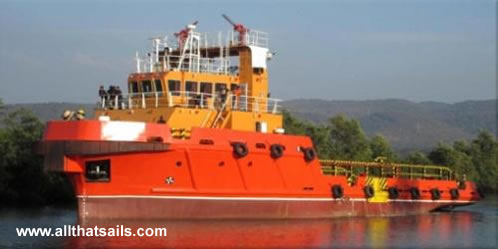 40m - Utility Supply Boat for Sale