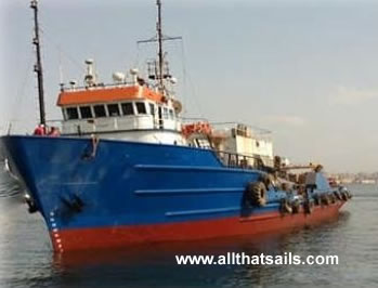 55m Accommodation Vessel for Sale