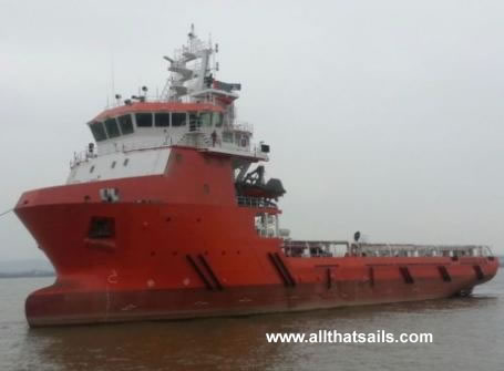 76m Platform Supply Vessel for Sale