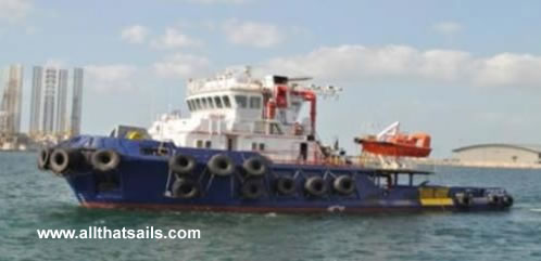 40m Platform Utility Vessel For Sale