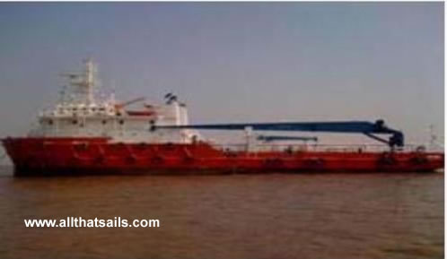 63m Work Boat / Supply Vessel For Charter