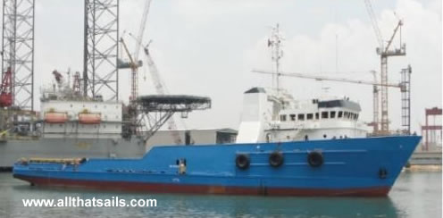 66.5m Platform Supply Vessel for Sale