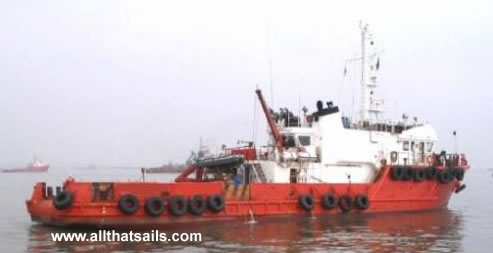 39m Multi-Purpose Tug / Survey / Support Vessel for Sale