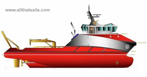 34m Multi-purpose Utility Supply Vessel for Sale