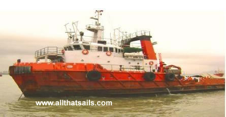 38m Survey / Supply Vessel for Sale