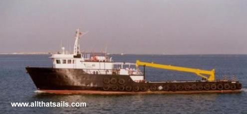 35.05m Supply/Utility Vessel For Sale
