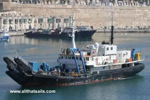 60.25m Salvage/Research Vessel for Sale