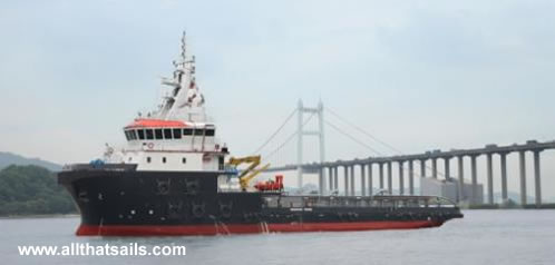 65m Anchor Handling Tug Supply Vessel for Sale