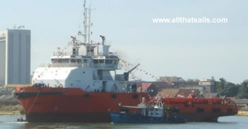 60m Anchor Handling Tug Supply Vessel for Sale