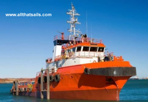 45m Anchor Handling Tug Supply Vessel for Sale