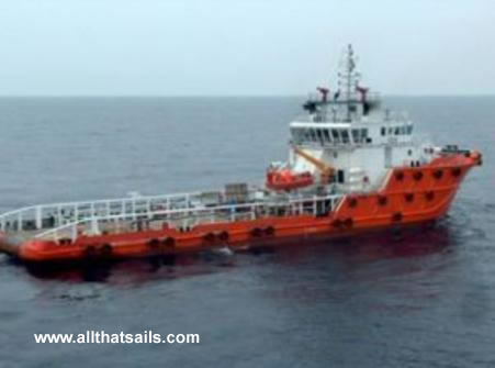 59m Anchor Handling Tug Supply Vessel for Charter