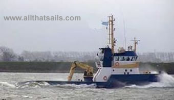 29.8m Shallow Draft Anchor Handling Tug For Charter