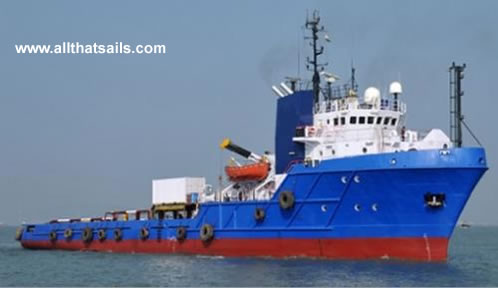 68m Anchor Handling Tug Supply Vessel for Sale