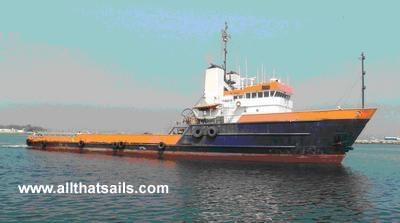 66m Anchor Handling Tug Supply Vessel For Sale
