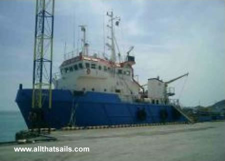 55m Anchor Handling Tug Supply Vessel for Sale