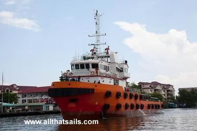 50m Anchor Handling Tug For Charter